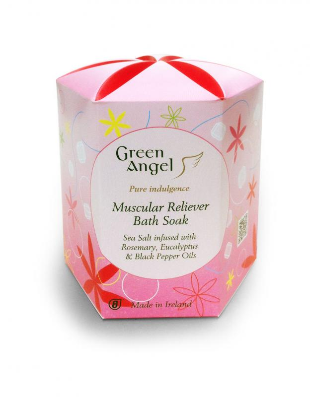 Green Angel Muscular Reliever Sea Salt Bath Soak